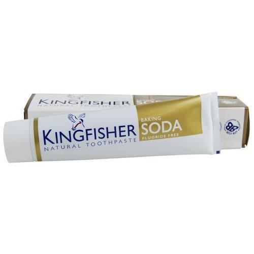 Bathroom - Kingfisher Natural Toothpaste - Baking Soda (Flouride Free)