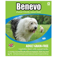 Benevo Adult Grain-Free Vegetable Feast with Mixed Herbs (395g) - TheVeganKind