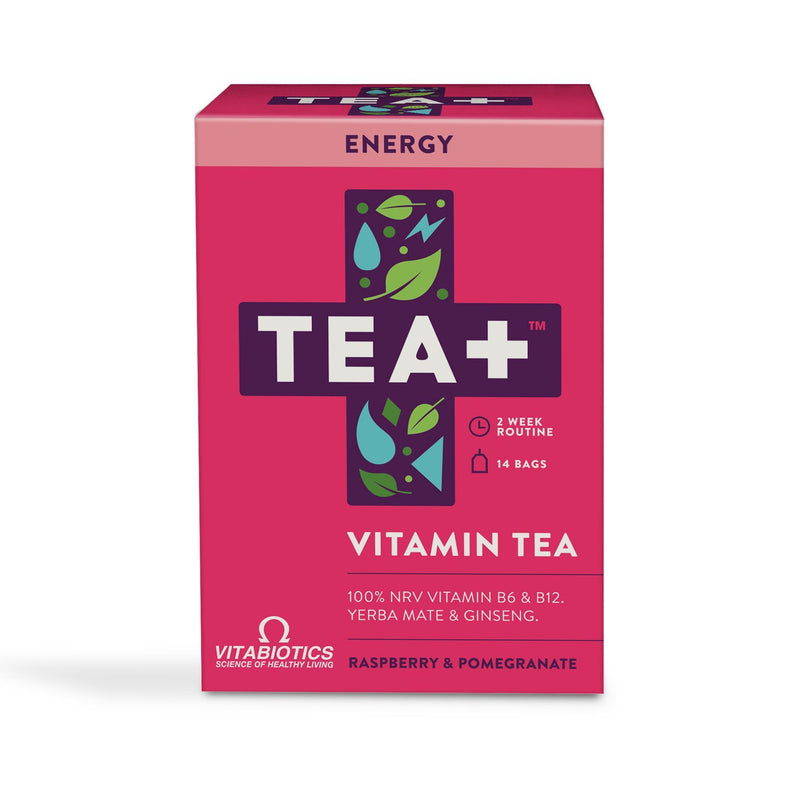 TEA+ Vitamin Tea - Energy (14 teabags)