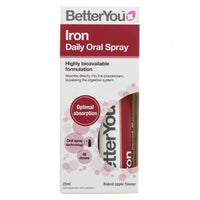 Better You - Iron Daily Oral Spray (25ml) - TheVeganKind