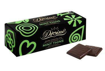 Divine - After Dinner, Dark Chocolate Mint Thins (200g) - TheVeganKind