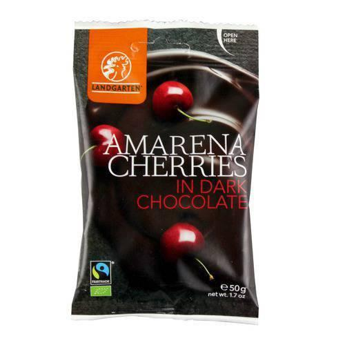 Chocolates - Landgarten - Amarena Cherries In Dark Chocolate