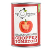 Mr Organic Chopped Tomatoes (400g)