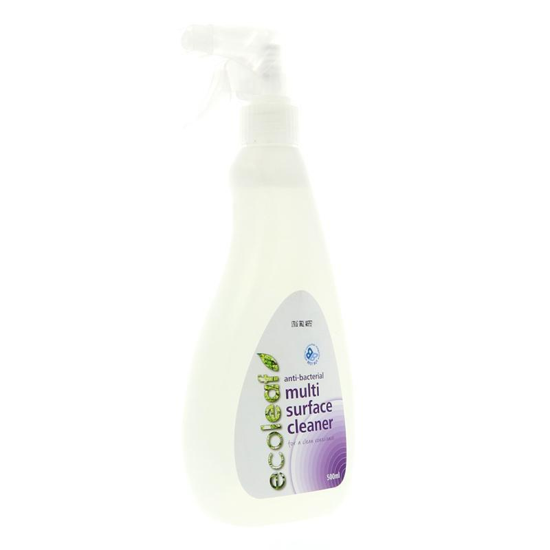 Ecoleaf Anti-Bacterial Multi Surface Cleaner (500ml) - TheVeganKind