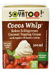 Soyatoo Cocos Whip Coconut Topping Cream (300ml) - TheVeganKind