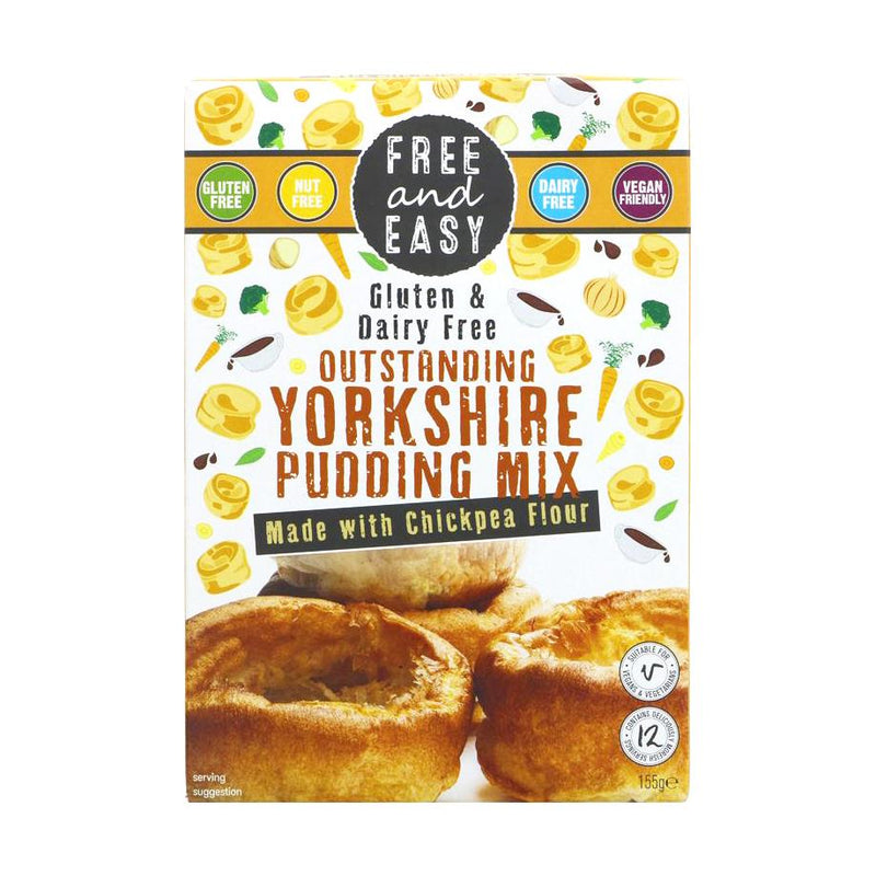 Free & Easy - Gluten & Dairy Free Outstanding Yorkshire Pudding Mix (155g)