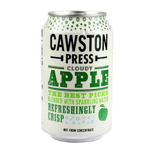 Cawston Press Cloudy Apple Sparkling Drink (330ml) - TheVeganKind