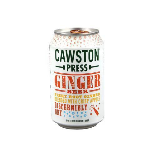 Cawston Press Ginger Beer Sparkling Drink (330ml) - TheVeganKind