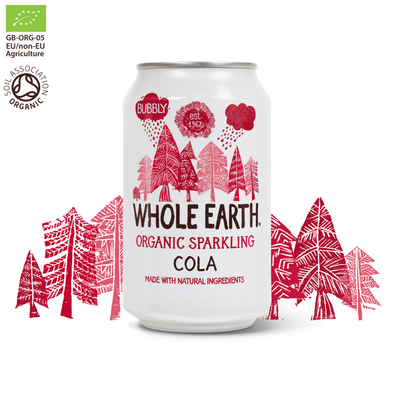 Drinks - Whole Earth - Organic Sparkling Cola