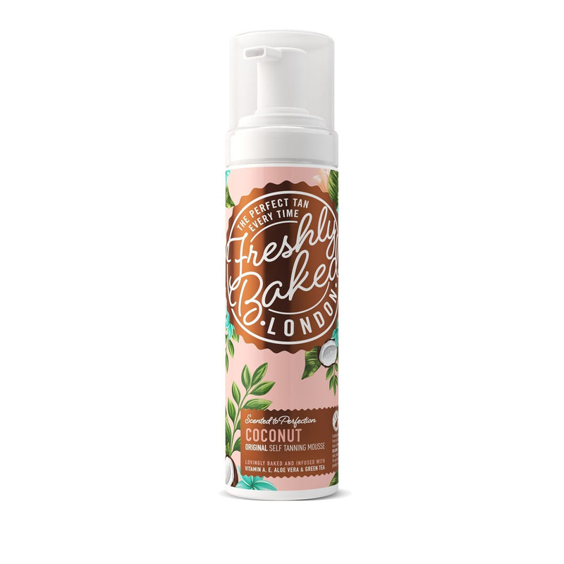 Freshly Baked London - Dark Coconut Scented Self Tan Mousse (200ml)