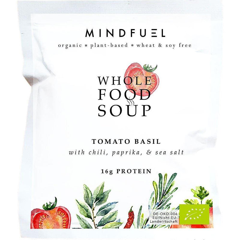 Mindfuel - Organic Whole Food Protein Soup - Tomato Basil (53g)