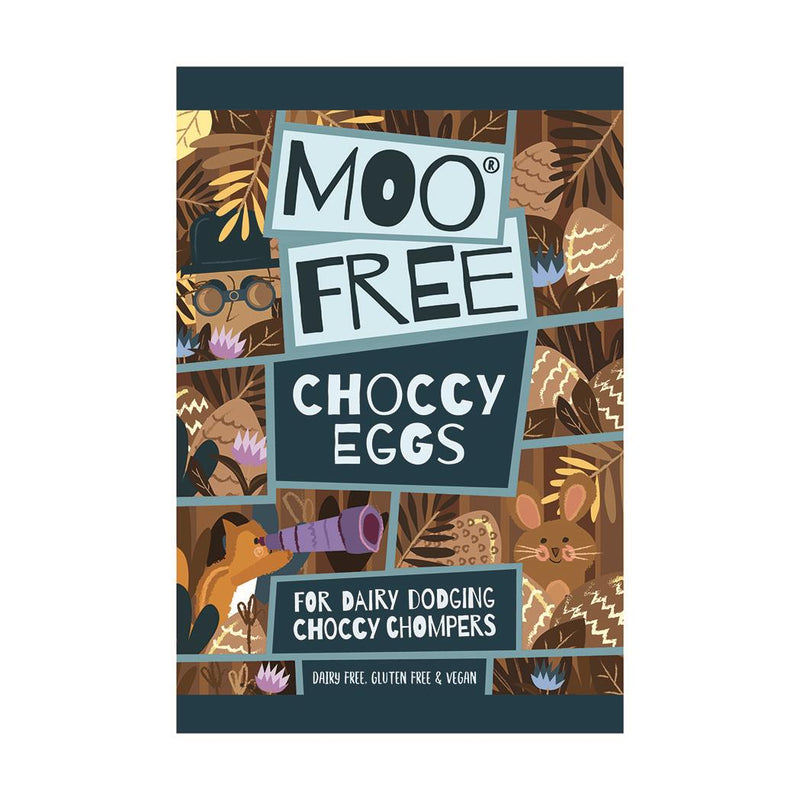 Moo Free - Milk Choccy Mini Easter Eggs (80g)