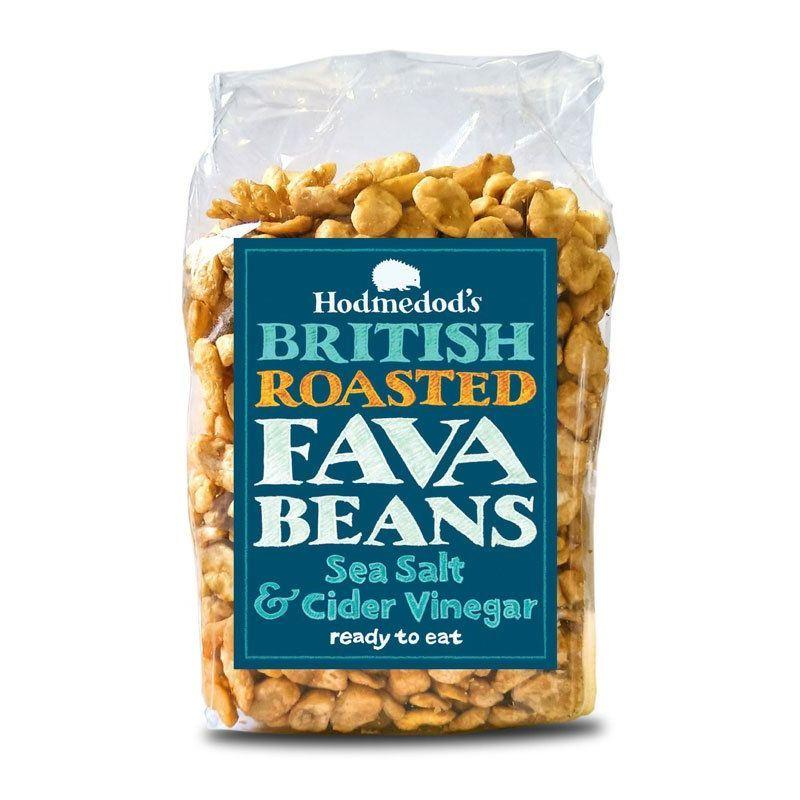 Hodmedod's - Roasted Fava Beans - Sea Salt & Cider Vinegar (300g)