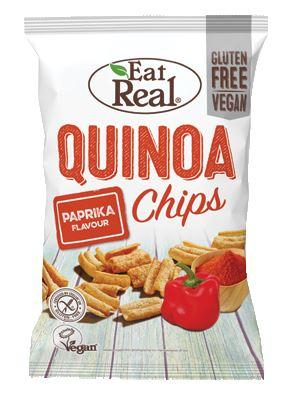 Eat Real - Paprika Quinoa Chips (80g)