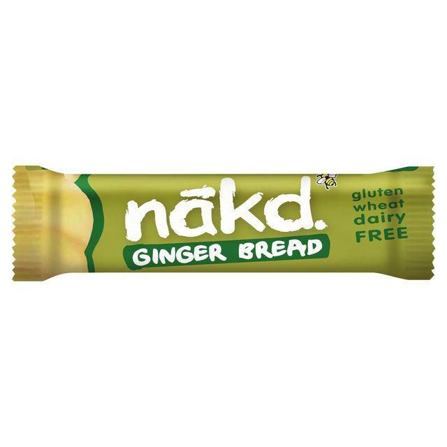 Nakd - Raw Fruit & Nut Bars - Ginger Bread (35g)