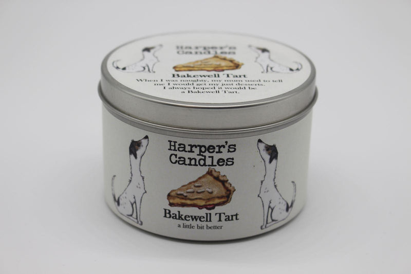 Harper's Candles - Sweet Candle - Bakewell Tart