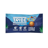 Tribe - Nature Bombs, Choc + Cashew Nut Butter (40g)