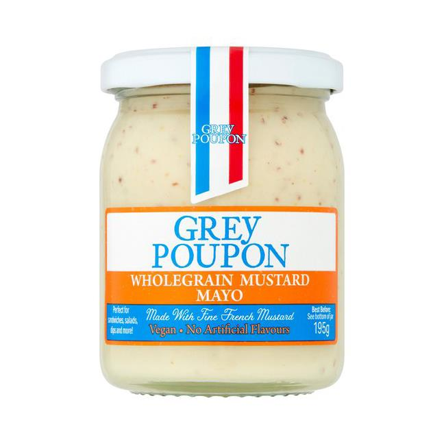 Grey Poupon - Wholegrain Mustard Mayo (195g)