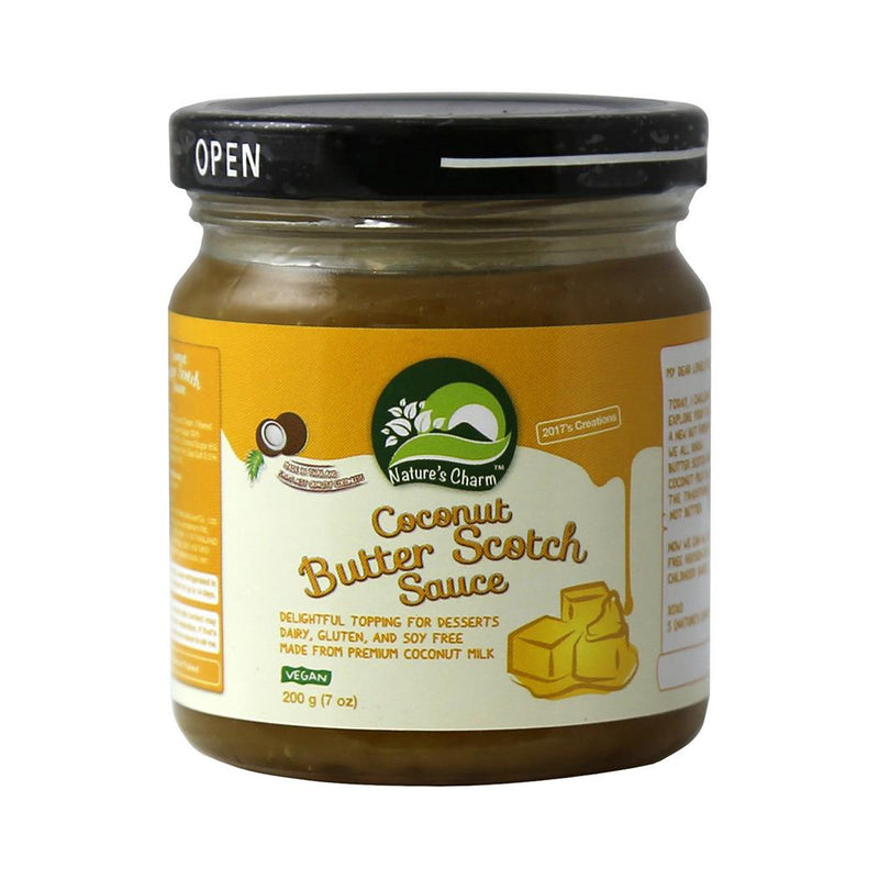 Nature's Charm - Coconut Butter Scotch Sauce (200g)
