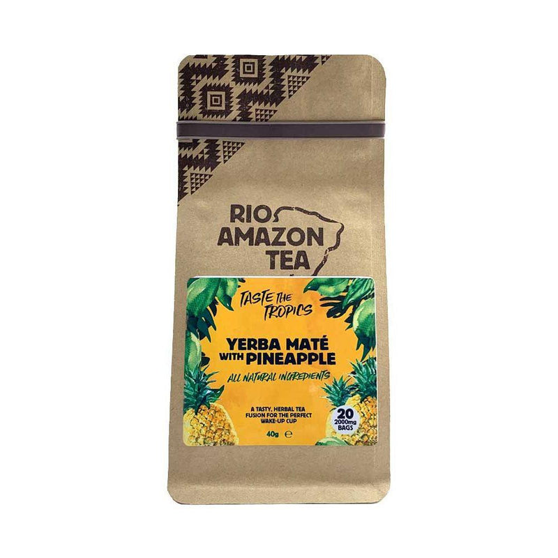 Rio Amazon - Yerba Mate with Pineapple Teabags (20bags)