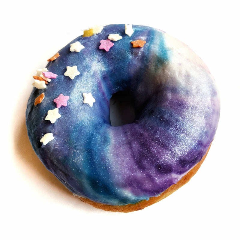 The Doughnut Family - Vanilla Galaxy Doughnut