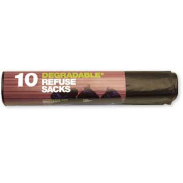 10 x Degradable Refuse Sacks (70 litres) - TheVeganKind