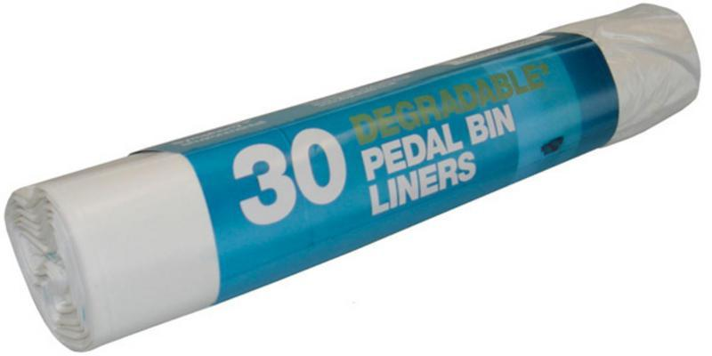 30 x Degradable Pedal Bin Liners (20 litres) - TheVeganKind
