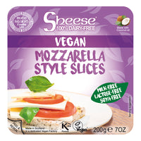 Bute Island Sheese 100% Dairy Free Cheese - Mozzarella Melty Sliced Vegan Cheese (200g)