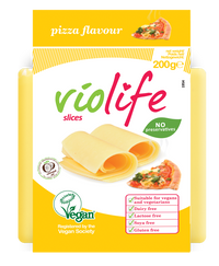 (Best Before 30/6) Violife Pizza Flavour Sliced Vegan Cheese (200g) - TheVeganKind