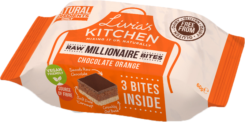 Livia's Kitchen - Million Squares Snack Packs (Various) (60g)