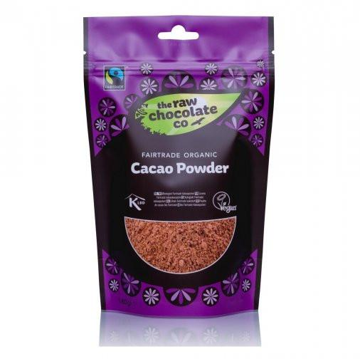 Powders - The Raw Chocolate Co - Fairtrade Organic Cacao Powder (180g)