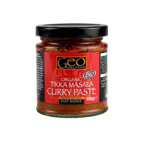 Sauces & Spreads - Geo Organics Tikka Masala Curry Paste