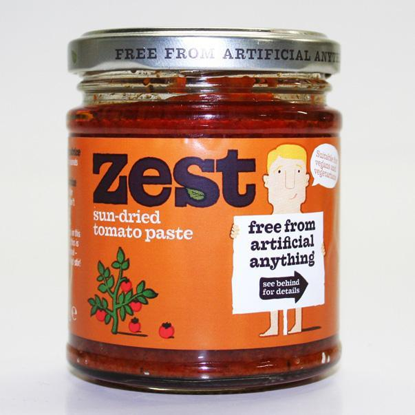 Sauces & Spreads - Zest Sun-dried Tomato Paste (170g)