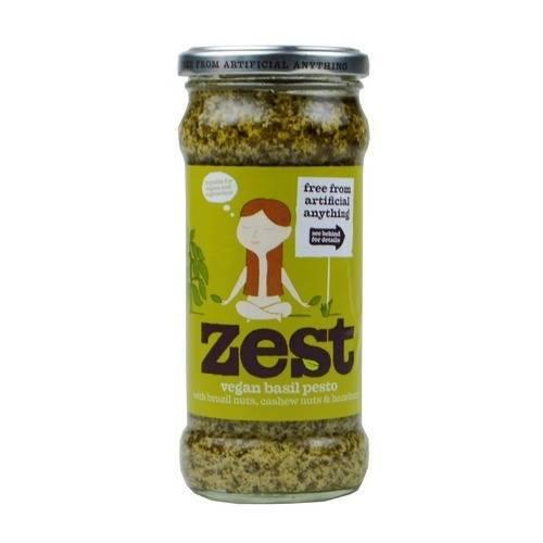 Sauces & Spreads - Zest - Vegan Basil Pesto