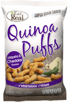 Eat Real Jalapeno & Cheddar Quinoa Puffs (113g) - TheVeganKind