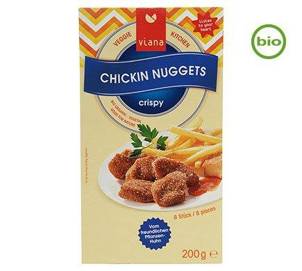 (USE BY 30/05) Viana Crispy Chickin Nuggets (200g) - TheVeganKind