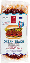 (USE BY 09/12/18) Viana Ocean Beach Burger (200g) - TheVeganKind
