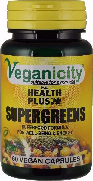 Vitamins - Veganicity - Supergreens