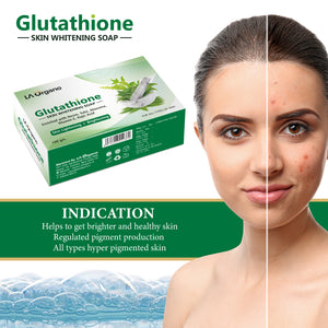 Glutathione Skin Whitening Soap with Tulsi and Neem