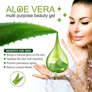 Glutathione Skin whitening Soap(75x3) with Aloe Vera Multipurpose Beauty Gel Perfect Skin Combo (4 Items in the set)