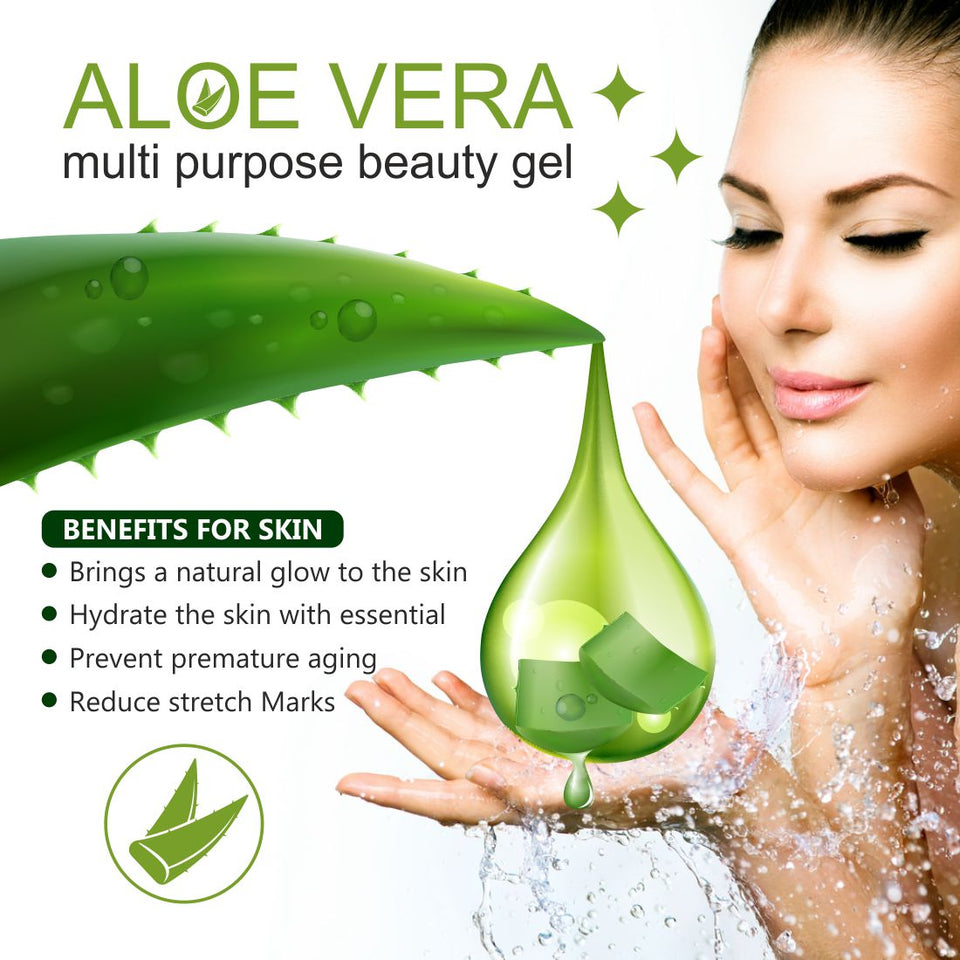 Aloe Vera Gel for Face and Hair