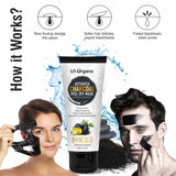 Face Glow Serum with 20% Vitamin C & Activated Charcoal Peel Off Mask Combo (Pack of 2)