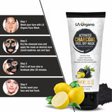 Glutathione Skin whitening Soap with Activated Charcoal Peel Off Mask(100g) Skin Care Combo