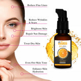 Glutathione Skin whitening Soap(75gX3) with 20% Vit C Face Glow Serum(30ml) Skin Care Combo