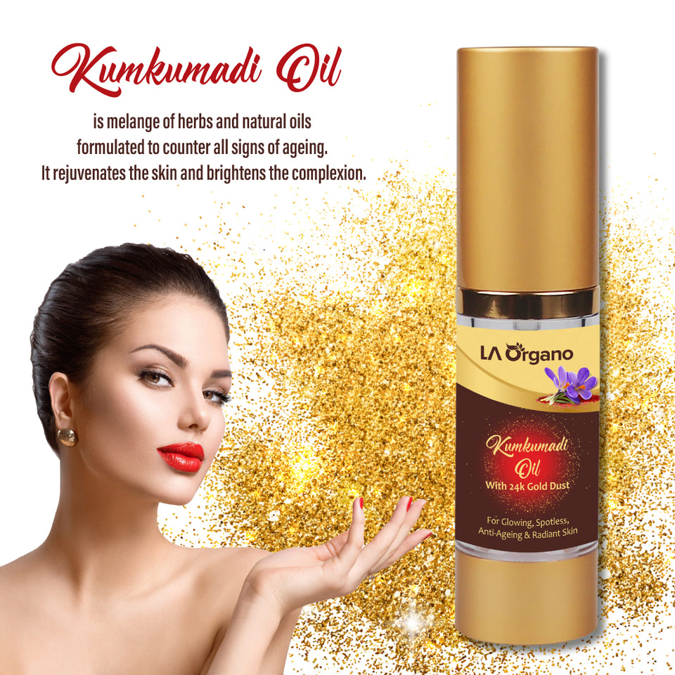Kumkumadi Oil for Skin Whitening