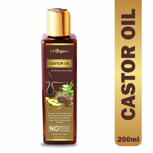 Castor Oil For Stronger Hair & Skin - For All Hair Type 200ml