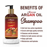 Argan Hair Oil & Shampoo For Hair Growth,Smooth & Shiny Hair- Perfect Hair Care Combo(Pack of 2)