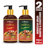 Argan Shampoo & Conditioner For Restore Shiny,Nourishes & Hydrate,Smooth & Healthy Hair  (2 Items in the set)