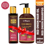 Red Onion Hair Oil + Red Onion Shampoo (Combo)