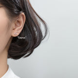 Silver Constellation Stud Earrings